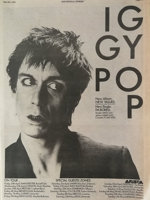 Iggy Pop - New Values