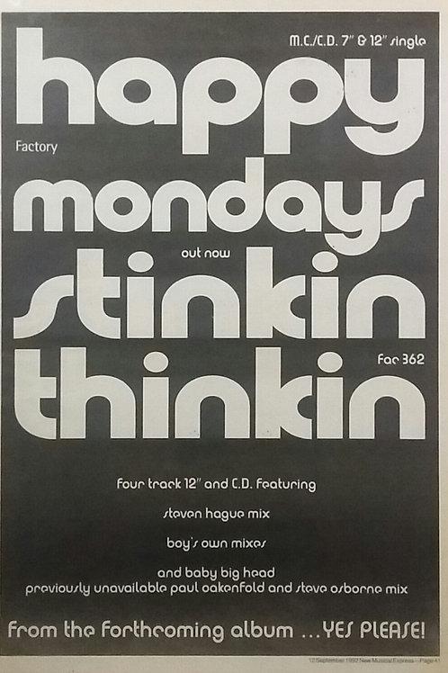 Happy Mondays - Stinkin Thinkin