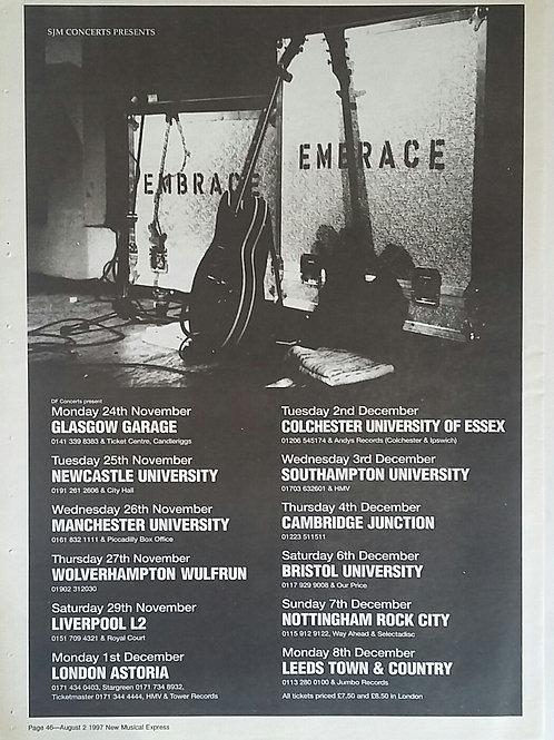 Embrace - Tour