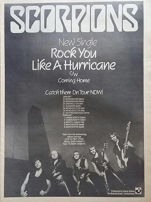 Scorpions - Rock You Like A Hurricane