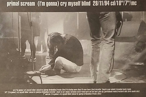 Primal Scream - I'm Gonna Cry Myself Blind
