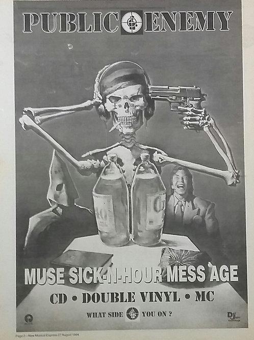 Public Enemy - Muse Sick N Hour Mess Age