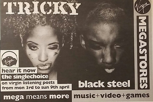 Tricky - Black Steel