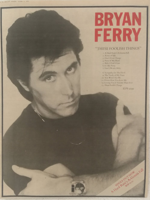 Brian Ferry - These Foolish Things