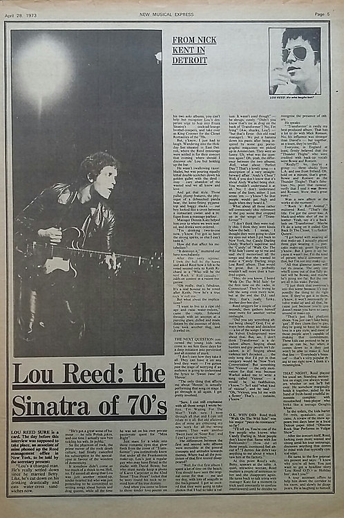Lou Reed - Articles