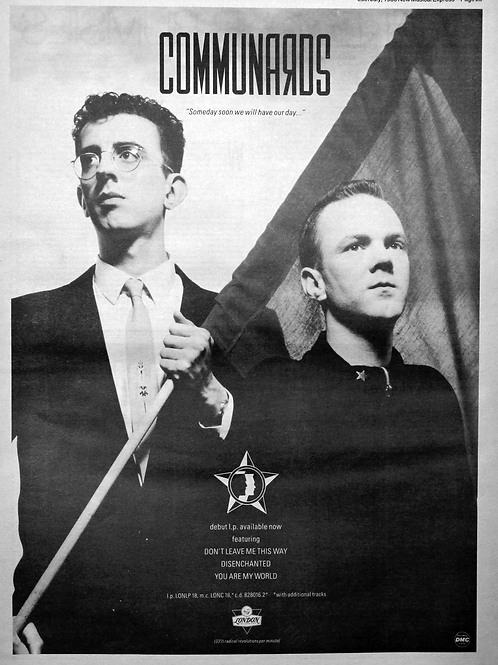 The Communards - Close To Me / You Are My World