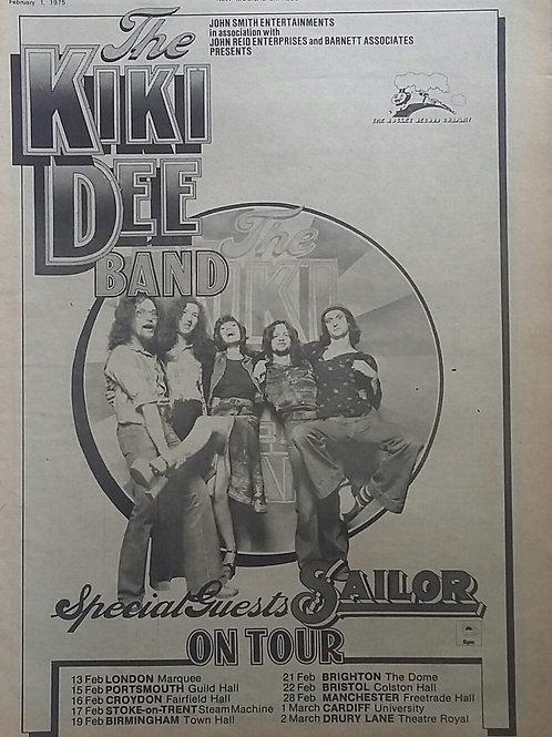 The Kiki Dee Band - On Tour