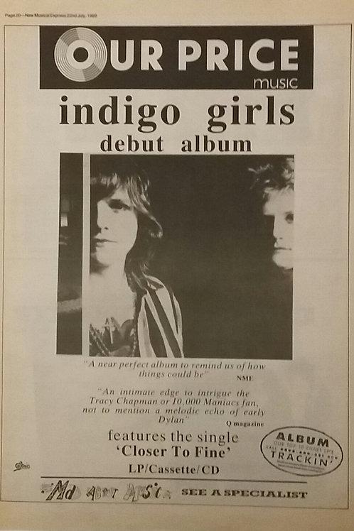 Indingo Girls - Debut Album