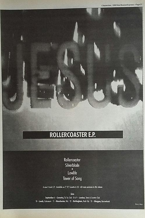 Jesus - Rollercoaster E.P.