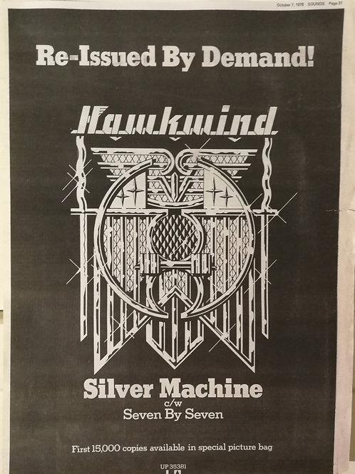 Hawkwind – Silver Machine / Seven By Seven