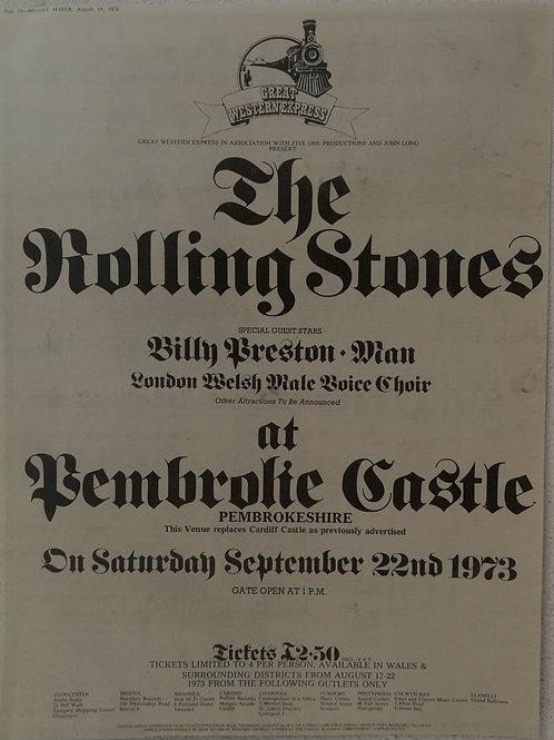 Rolling Stones - Tembrolie Castle