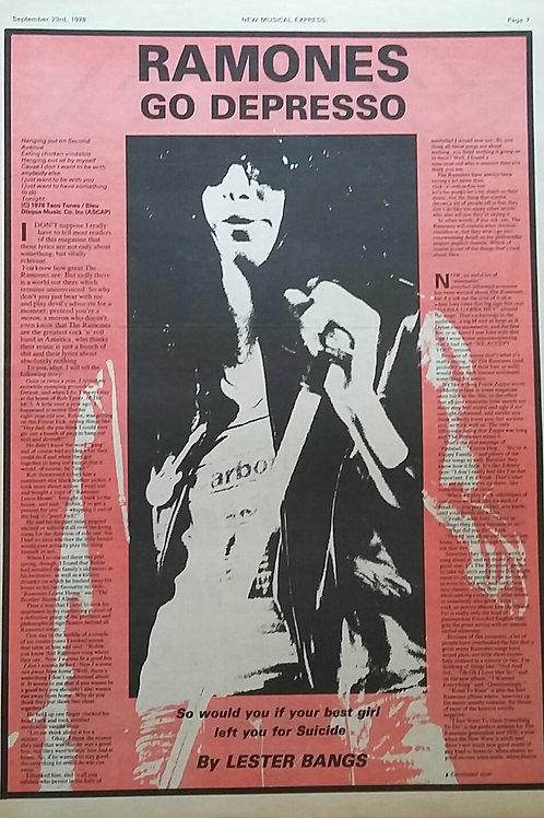 Ramones - Go Depresso
