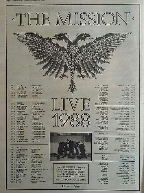 Mission - Live 1988