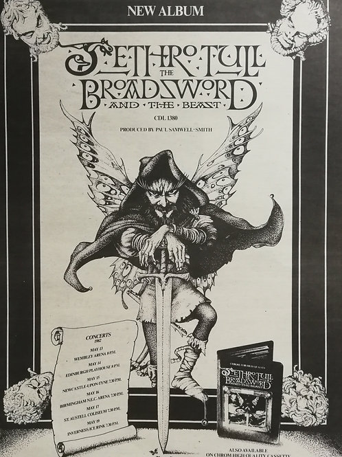Jethro Tull – The Broadsword And The Beast