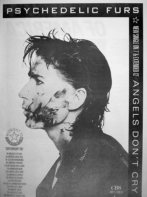 The Psychedelic Furs – Angels Don't Cry