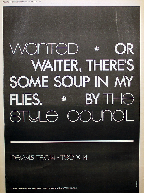 Style Council - Wanted