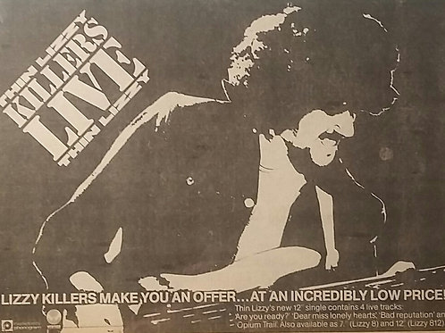 Thin Lizzy – Killers Live