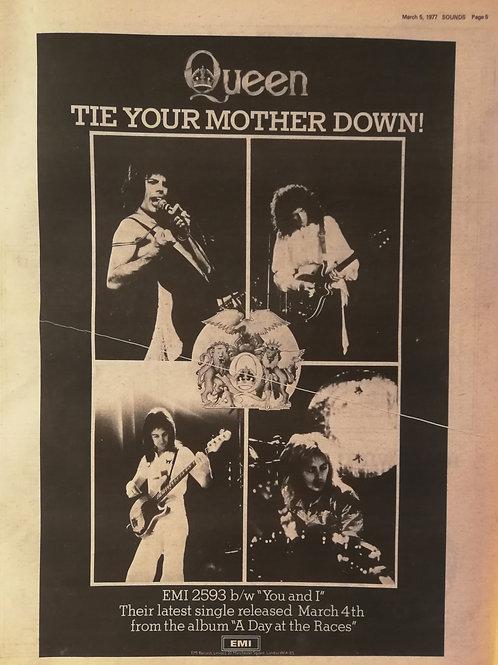 Queen - Tie Your Mother Down