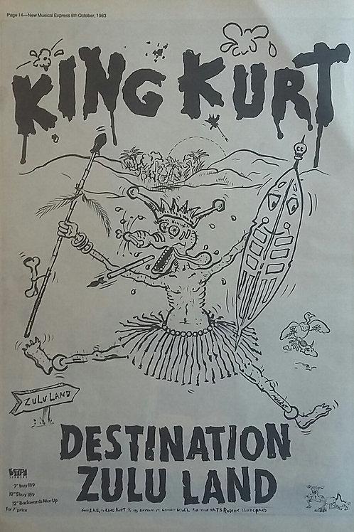 King Kurt – Destination Zululand