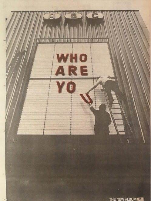 The Who -Who Are You