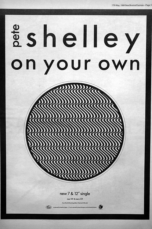 Pete Shelley – On Your Own