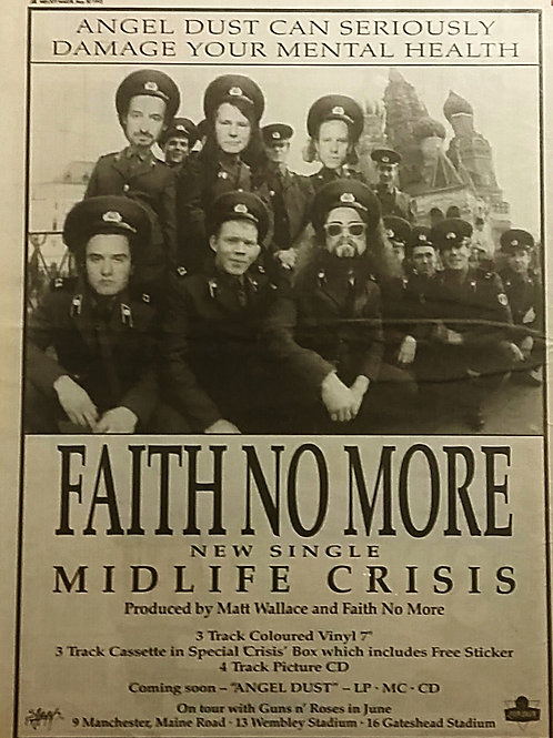 Faith No More ‎– Midlife Crisis