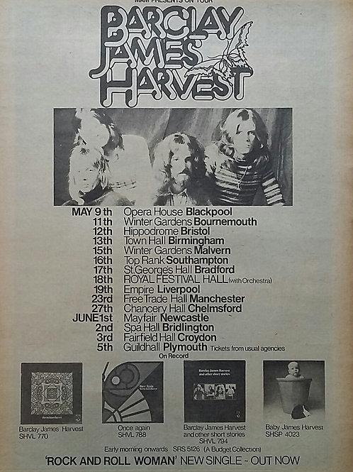 Barclay James Harvest - Tour