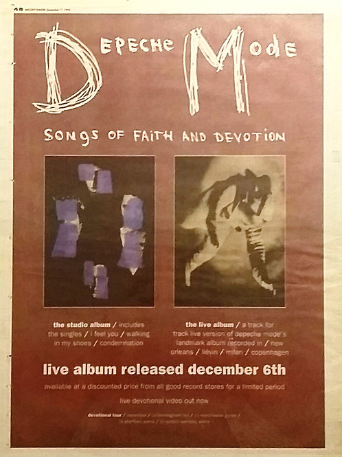 Depeche Mode - Song Of Faith And Devotion