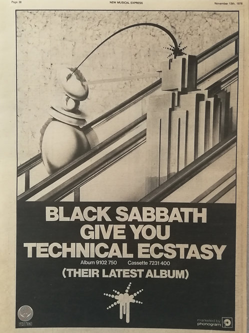 Black Sabbath - Give you Technical Ecstasy