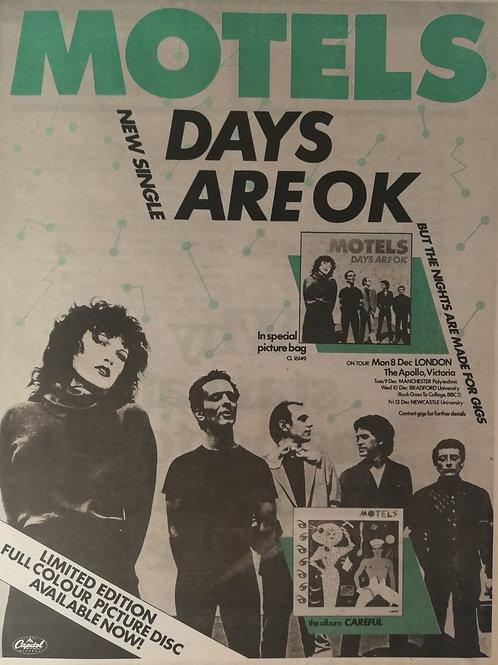 Motels - Days Are Ok