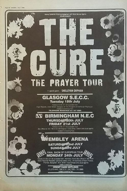 Cure - The Prayer Tour