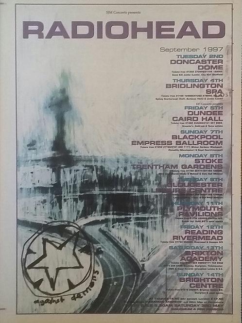Radiohead -Tour September 1997