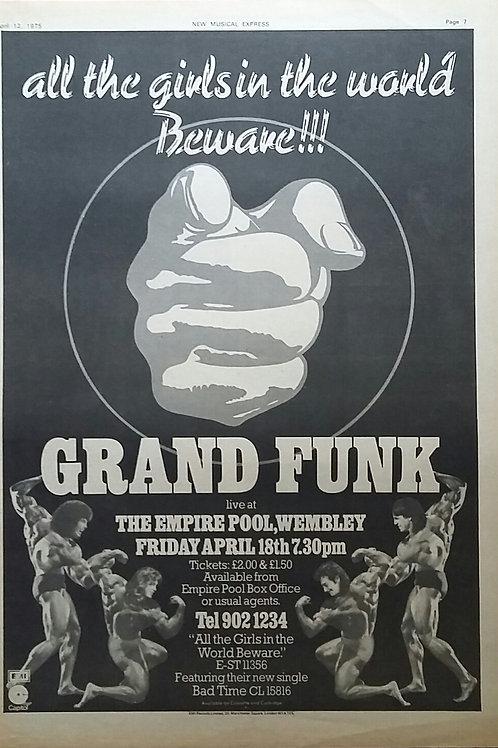 Grand Funk - Concert