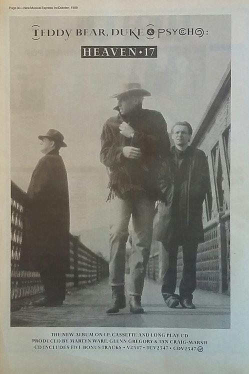 Heaven 17 - Teddy Bear, Duke & Psycho