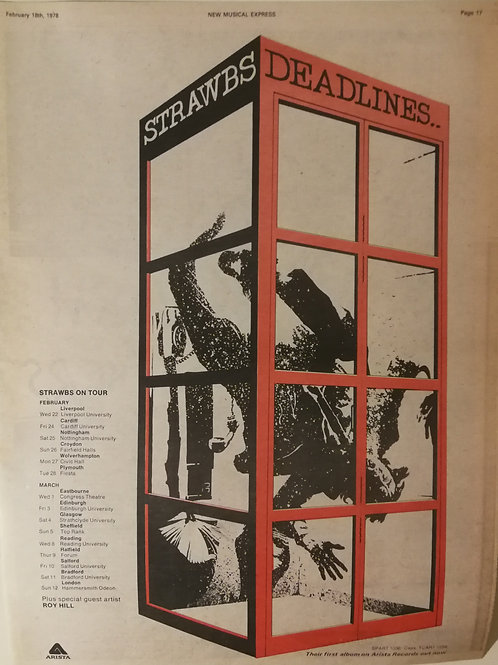 Strawbs - Deadlines...