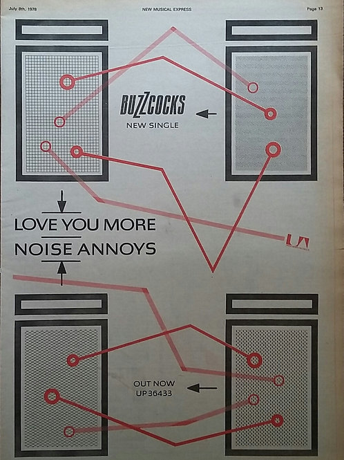 Buzzcocks ‎– Love You More