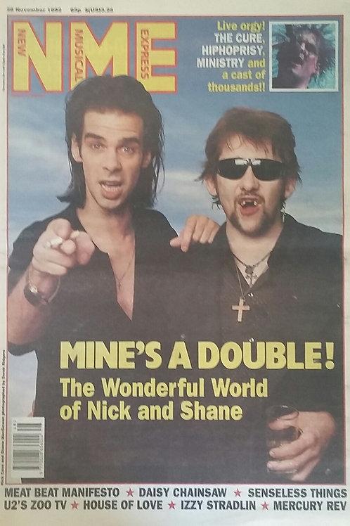 Nick Cave & Shane MacGowan
