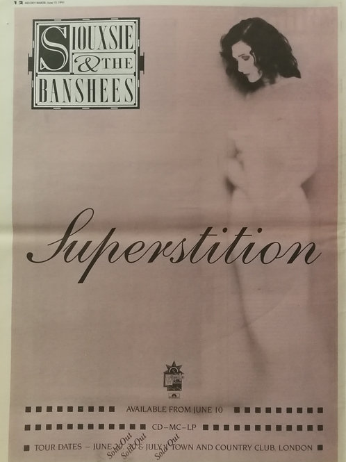 Siouxsie And The Banshees – Superstition