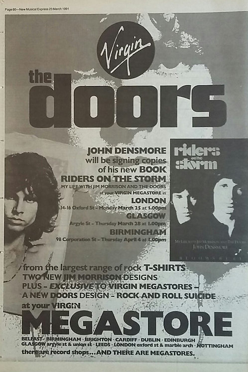 The Doors - Riders Of The Storm Book