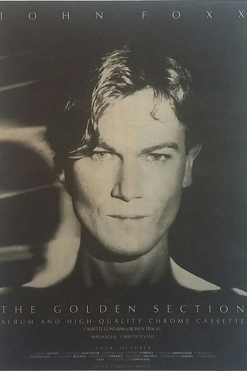 John Foxx - The Golden Section