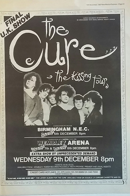 Cure - The Kissing Tour