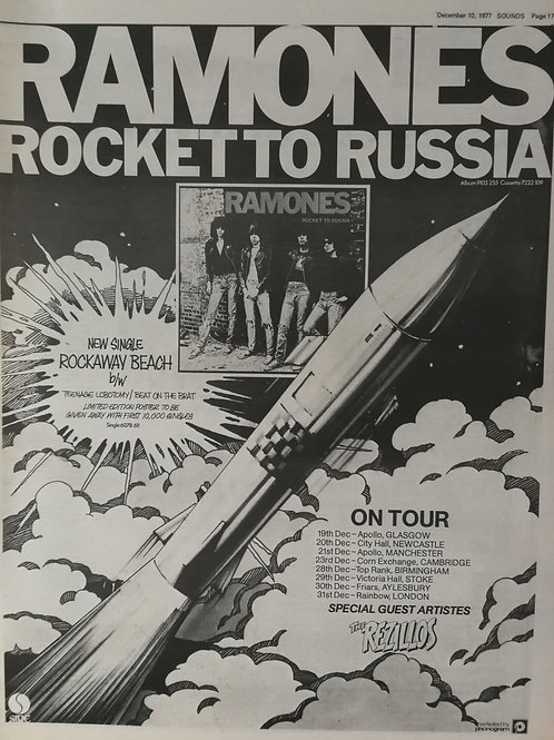 Ramones - Rock To Russia