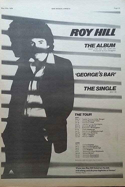Roy Hill – George's Bar