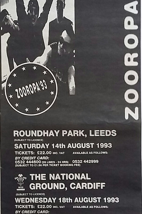 U2 - Zooropa Concert