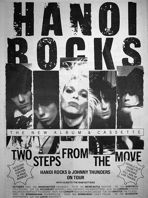Hanoi Rocks & Johnny Thunders On Tour