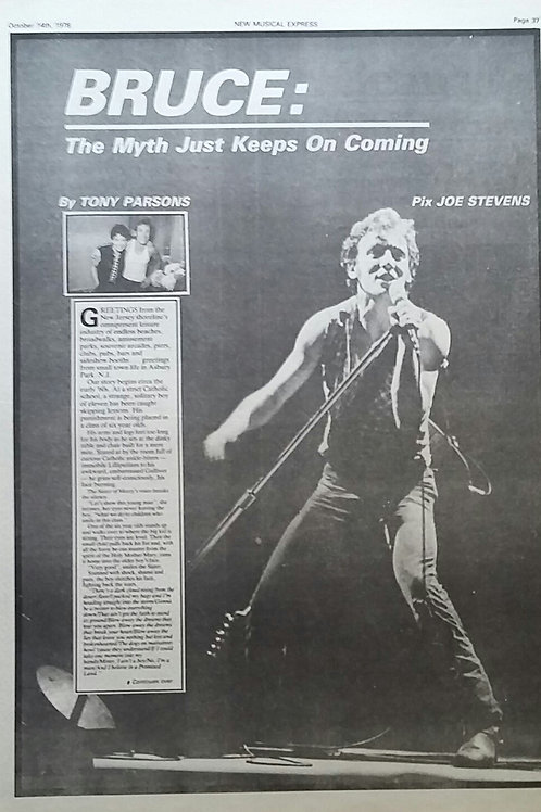 Bruce Springsteen - Article