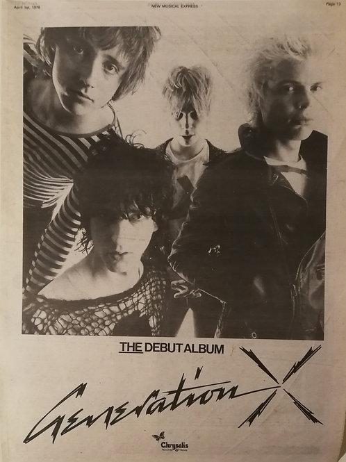 Generation X - The Debut Album