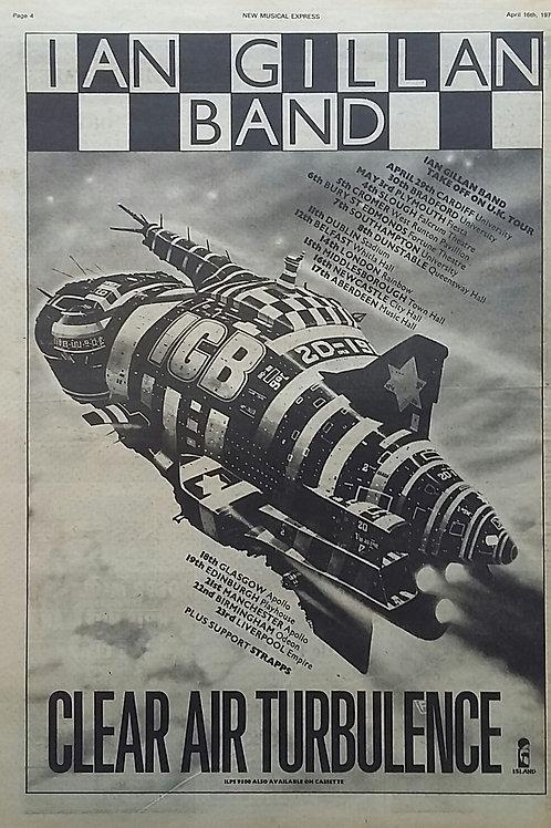 Ian Gillan Band – Clear Air Turbulence