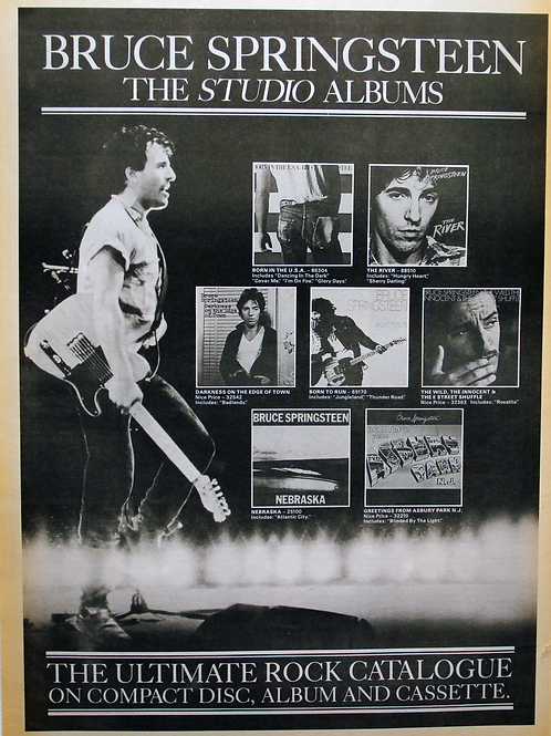 Bruce Springsteen - The Studio Albums