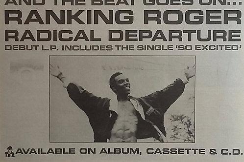 Ranking Roger – Radical Departure